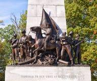 Парк Gettysburg национальный воинский, Пенсильвания Стоковые Фотографии RF