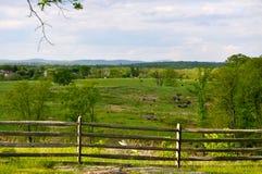 Парк Gettysburg национальный воинский - 038 Стоковые Фотографии RF