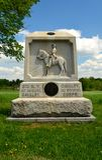 Парк Gettysburg национальный воинский - 241 Стоковые Фотографии RF