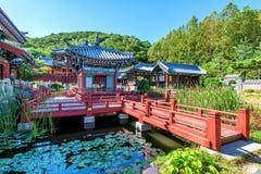 Парк Geum Dae Jang или корейская историческая драма в Корее стоковое изображение rf