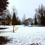 Парк Gmunden Toscana Стоковые Изображения RF