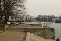 Парк Gor'kova стоковые изображения rf