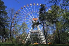 Парк Gorky в Минске стоковая фотография rf