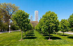 Парк Grant, Чикаго Стоковые Изображения