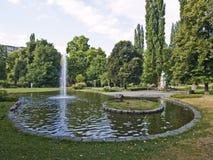 парк graz города Стоковая Фотография