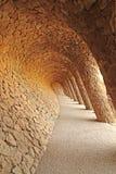парк guell barcelona Стоковая Фотография RF