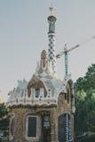 парк guell barcelona Стоковое Изображение RF