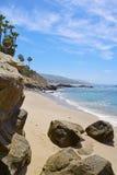 Парк Heisler, пляж Laguna Стоковые Фотографии RF