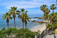 Парк Heisler, пляж Laguna Стоковое фото RF