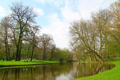 Парк Het - Роттердам - Нидерланды Стоковое Изображение