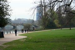 парк hyde london Стоковая Фотография
