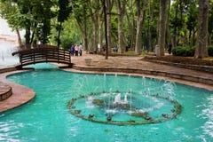 парк istanbul gulhane Стоковое Фото
