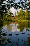 парк johanna leipzig Стоковая Фотография