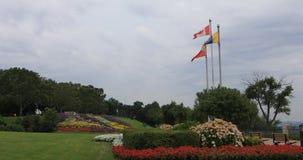 парк 4K UltraHD Сэм Lawence в Гамильтоне, Канаде видеоматериал
