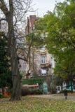 Парк Kalemegdan в центре Белграда стоковое изображение