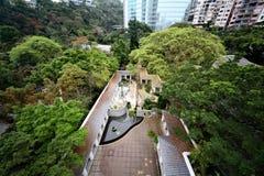 Парк Kowloon в Гонконге Стоковая Фотография