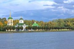 парк kuskovo осени Стоковые Изображения