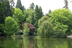 парк laurelhurst Стоковая Фотография