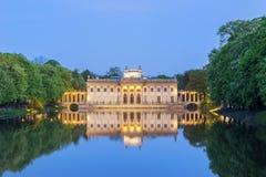 Парк Lazienki в Варшаве, Польше Стоковое Фото