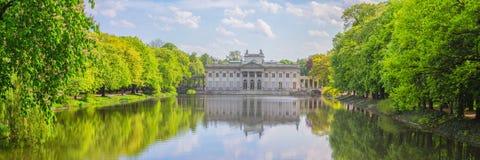 Парк Lazienki в Варшаве, Польше Стоковое Изображение