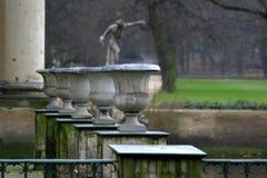 парк lazienki 4 Стоковое фото RF
