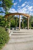 парк lazienki стоковая фотография rf