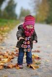 парк llittle младенца осени Стоковые Изображения RF