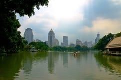 Парк Lumpini стоковое фото rf