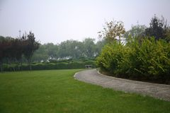 Парк Luopu, Лоян Стоковое Изображение