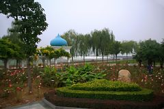 Парк Luopu, Лоян Стоковая Фотография RF