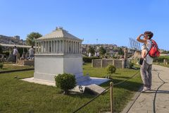 Парк Miniaturk, Стамбул стоковое фото rf