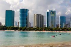 парк moana пляжа ala Стоковая Фотография