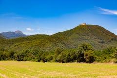 парк montseny естественный Стоковые Фотографии RF
