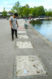 парк munich олимпийский Стоковые Фото