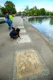 парк munich олимпийский Стоковая Фотография RF