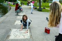 парк munich олимпийский Стоковое фото RF