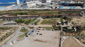 Парк Nahal Hadera видеоматериал