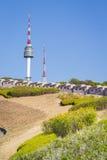 Парк Namsan и башня n Сеула Стоковое фото RF