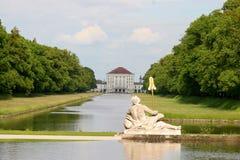 парк nymphenburg Стоковые Изображения