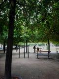 парк paris стоковое фото rf