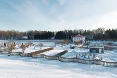Парк Peterhof стоковые изображения rf