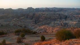 Парк Petra археологический, Джордан, Ближний Восток Стоковые Фотографии RF