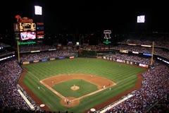 парк philadelphia ночи игры граждан банка Стоковая Фотография RF