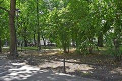 Парк Planty стоковое изображение