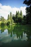 парк portland Орегона laurelhurst города Стоковые Изображения