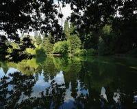 парк portland Орегона laurelhurst города Стоковое Фото