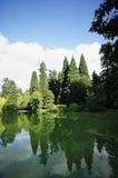 парк portland Орегона laurelhurst города Стоковое фото RF