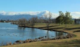 Парк Prado региональный, Чино, Сан Бернардино, Калифорния стоковое фото rf