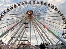 Парк Prater, колесо Ferris стоковая фотография rf