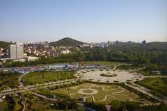 Парк Qingdao олимпийский стоковое фото